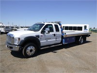 2008 Ford F550 Roll Back Tow Truck