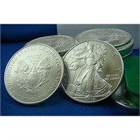 HB-9/26 - SIlver Bonanza! - 90% and Gold Coins!