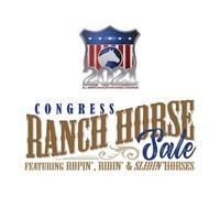 Congress Ranch Horse Sale October 2nd