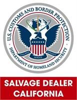 U.S. Customs & Border Protection (Salvage) 10/4/2021 Cali