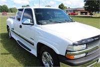 2002 Chevrolet Silverado Pickup Truck, Step Side,