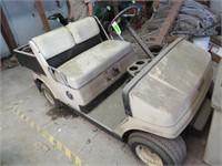 Yamaha Gas Golf Cart W/ Utility Box NEW PICS added