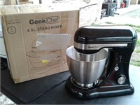 New Geek Chef 4.5L Stand Mixer