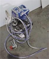 Graco Pro210ES Paint Sprayer, powers on, storage
