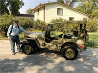 Art Thomsen Military Collectibles, Uniforms, & JEEP!