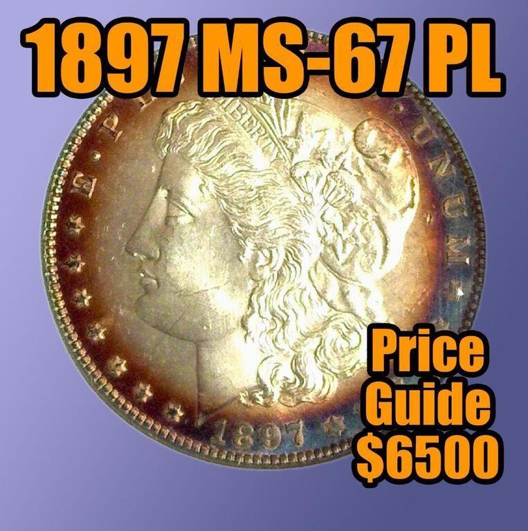 100 COIN THURSDAY SALE, Silver Dollars & More