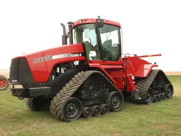 2002 CIH STX450 Tractor #JEE0100411