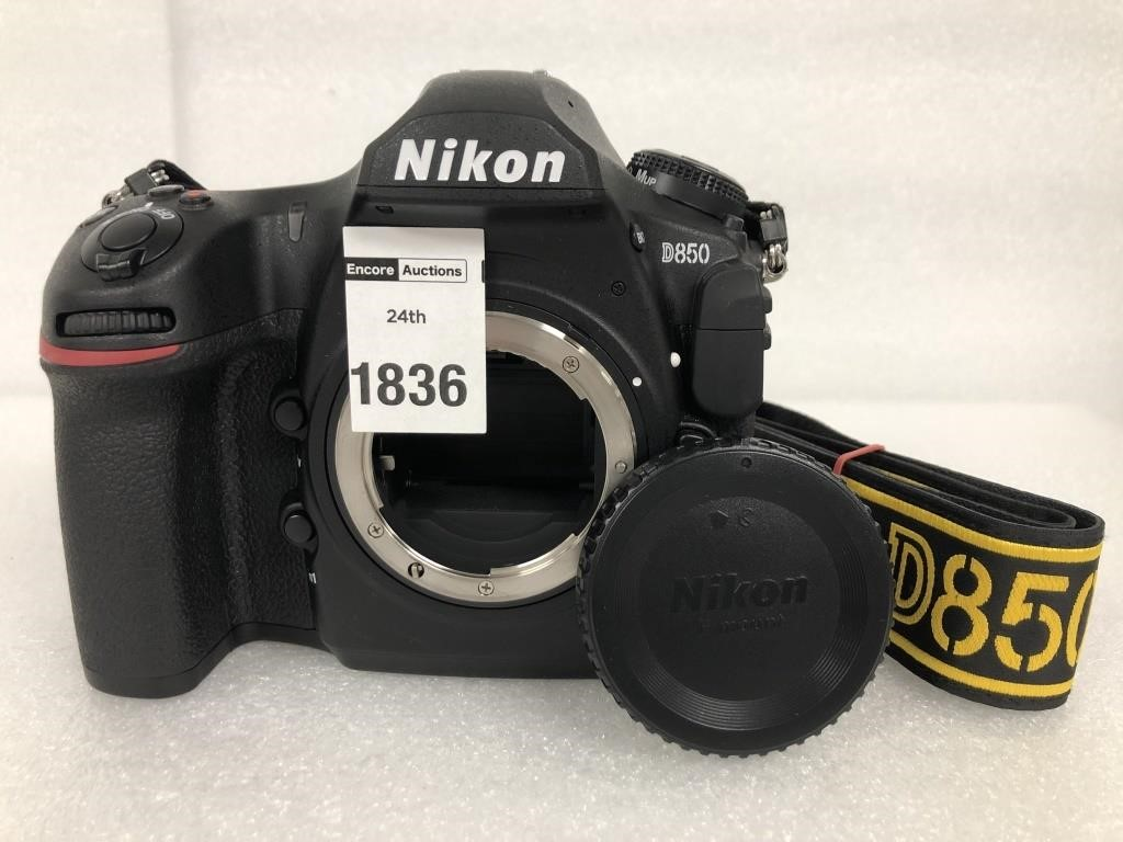 (BODY ONLY) NIKON D850 DIGITAL CAMERA