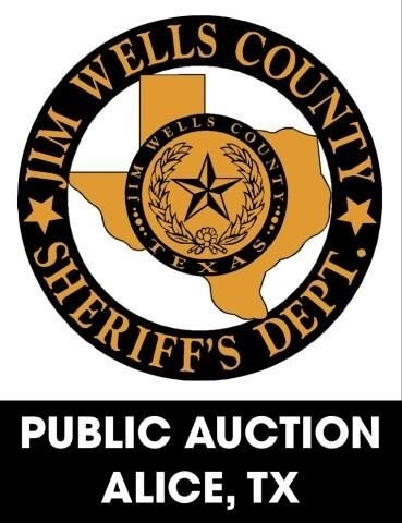 Jim Wells County Sheriff's Office online auction 10/25/2021