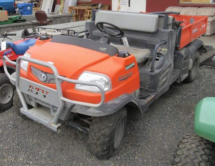Kubota RTV1140 Diesel 4x4 UTV